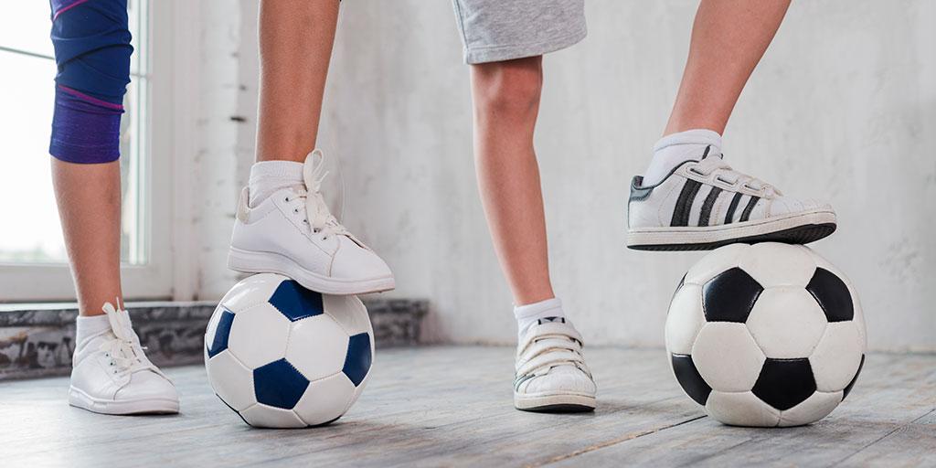 Mixed gender football